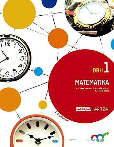 9788467851953: Matematika 1. (Hazi eta hezi bat eginik) - 9788467851953