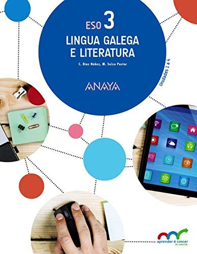 9788467853322: 3� E.S.O.-LINGUA G.E LITERATURA 3 (G) (2015) - A.CRECER