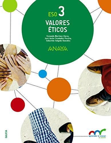 Con Razón, valores éticos, 3 ESO (Galicia): Fernández Pereira, José