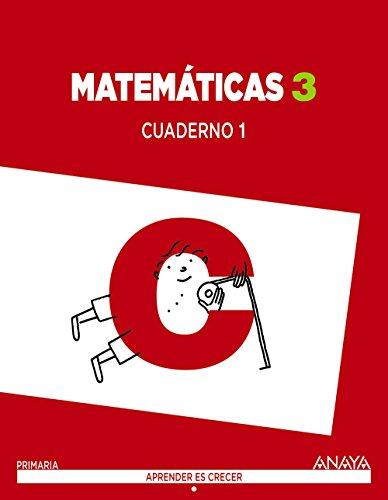 9788467864564: Matemáticas 3. Cuaderno 1 (Aprender es crecer) - 9788467864564