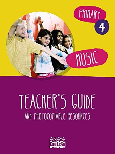 9788467879391: Music 4. Teacher ' s Guide. (Anaya English)