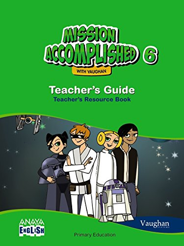 9788467881677: Mission Accomplished 6. Teacher ' s Guide.