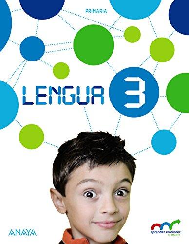 9788467888485: Lengua 3. (Con Lecturas: Los misterios de Lupas 3.) (Aprender es crecer en conexión) - 9788467888485