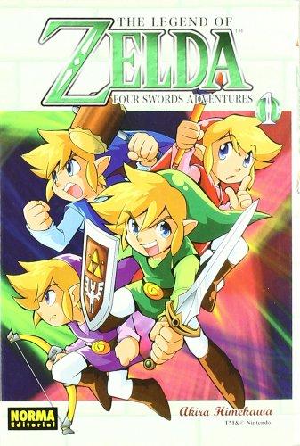 legend of zelda four swords adventure