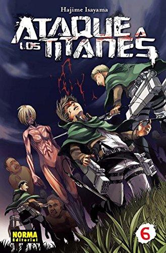9788467914016: Ataque a los titanes 6 (CÓMIC MANGA)