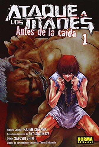 Ataque a los titanes, Antes de la: Isayama, Hajime and