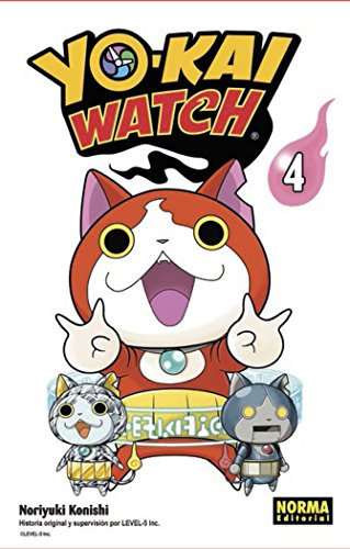 9788467924312: YOKAI WATCH 04