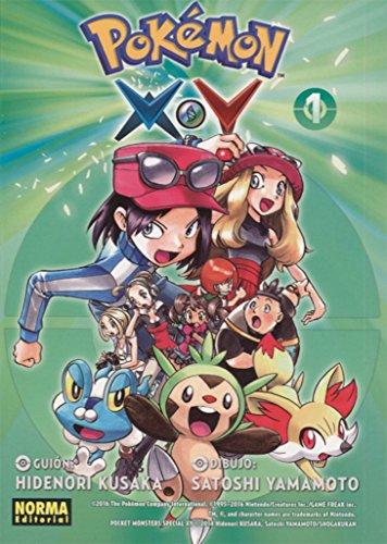 Pokemon X Y 1 De Kusaka Yamamoto New 2016 Ag Library