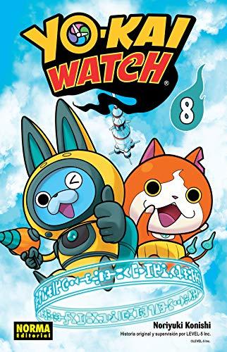 9788467930115: YOKAI WATCH 08