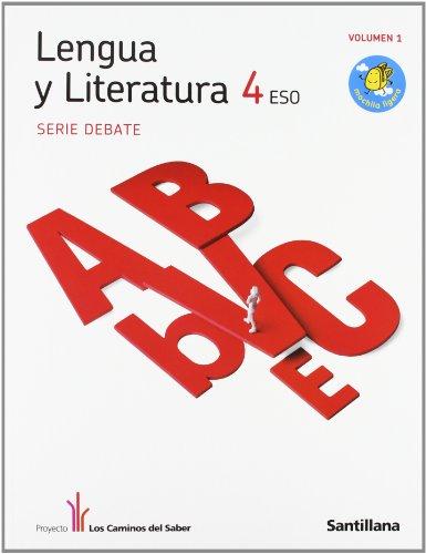 9788468000152: Lengua y Literatura Debate 4Secundaria - 9788468000152