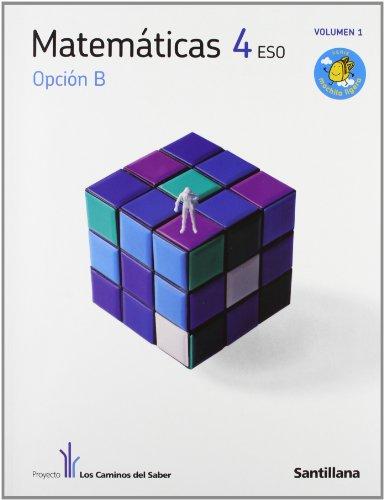 9788468000244: Matemáticas Opcion B 4 Secundaria