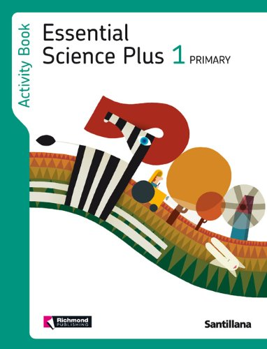 Cuad.essential science plus 1º.prim.activity book - Varios autores