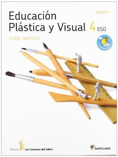 9788468000855: Educacion plastica y visual 4 ESO, Matices