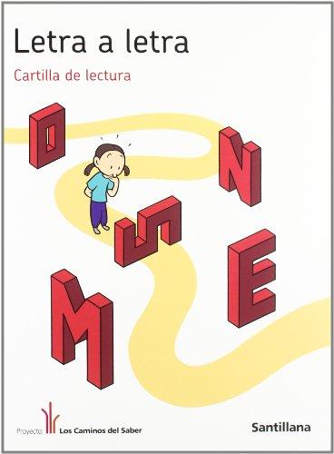 9788468001975: Letra a Letra Cartilla de Lectura los Caminos Del Saber Santillana