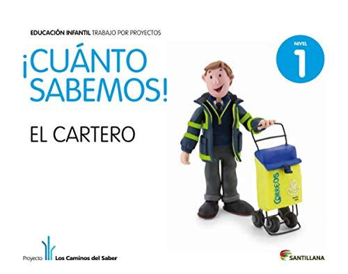 9788468002194: Cuanto Sabemos el Cartero Educ Infantil 3 Años Trabajo Por Proyectos los Caminos Del Saber Santillana - 9788468002194