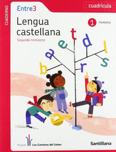 9788468002392: globalizado entre3 cuaderno lengua cuadricula 1 primaria 2 trim los caminos del saber