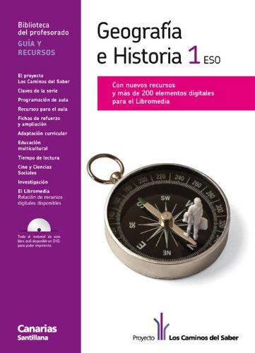9788468003177: Guia Geografía E Historia 1 Eso los Caminos Del Saber Canarias