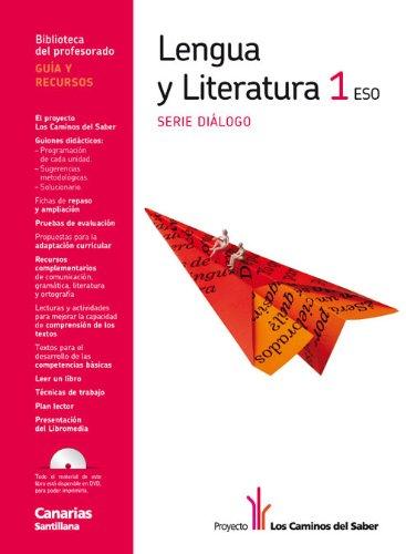 9788468003405: Guia Lengua y Literatura 1 Eso Serie Dialogo los Caminos Del Saber Canarias