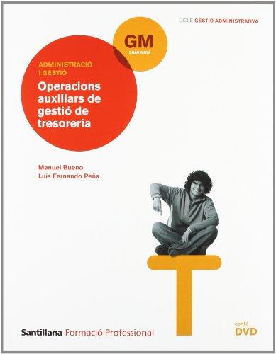 9788468003610: Operaciónes Auxiliares Gestion Tesoreria + Dvd Catalan