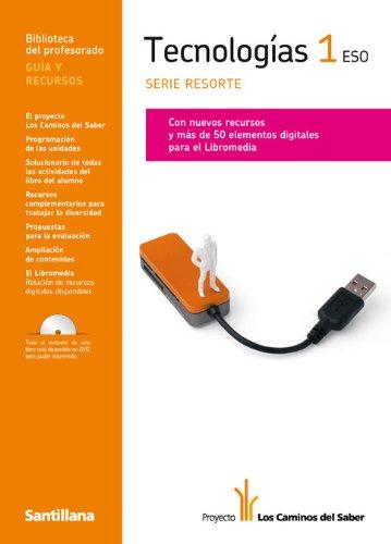 9788468008011: Guia Tecnologías 1 Eso Serie Resorte los Caminos Del Saber Santillana