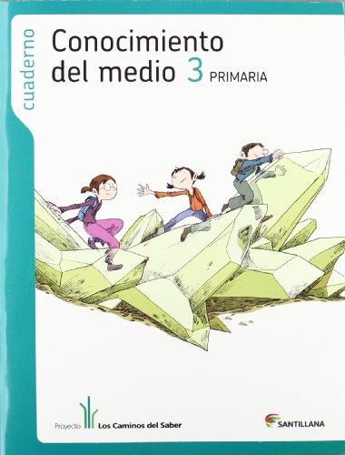 CUADERNO CONOCIMIENTO DEL MEDIO 3 PRIMARIA LOS: Aa.Vv.