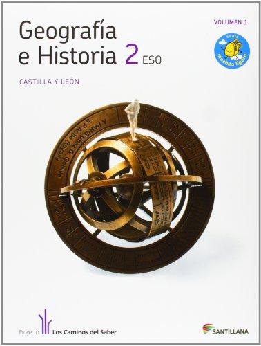 9788468011684: GEOGRAFIA E HISTORIA CASTILLA Y LEON 2 ESO SANTILLANA