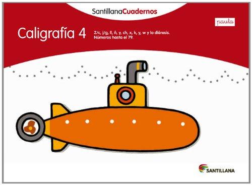 Caligrafía 4 Pauta Santillana cuadernos
