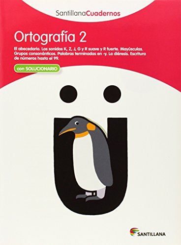 9788468012216: Santillana Cuadernos Ortografia: Ortografia Pauta 2