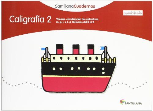9788468012544: CALIGRAFIA 2 CUADRICULA SANTILLANA CUADERNOS - 9788468012544