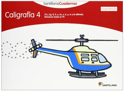 9788468012568: CALIGRAFIA 4 CUADRICULA SANTILLANA CUADERNOS - 9788468012568
