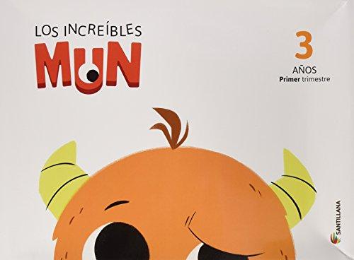Mun, Carpeta Infantil 3 años, primer trimestre (Paperback)