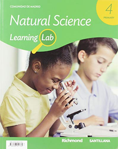 9788468051765: LEARNING LAB NATURAL SCIENCE MADRID 4 PRIMARY