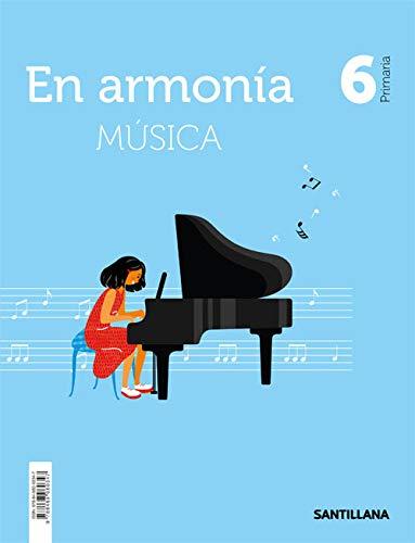 9788468060347: MUSICA EN ARMONIA 6 PRIMARIA
