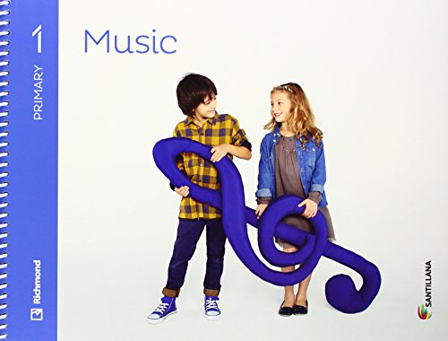9788468087641: MUSIC 1 PRIMARY STUDENT'S BOOK + CD - 9788468087641