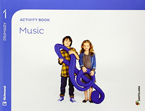 9788468087986: MUSIC 1 PRIMARY ACTIVITY BOOK - 9788468087986