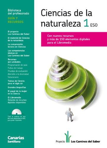 9788468090542: GUIA CIENCIAS DE LA NATURALEZA 1 ESO LOS CAMINOS DEL SABER CANARIAS