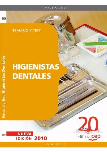 9788468101095: Higienistas Dentales. Temario y Test