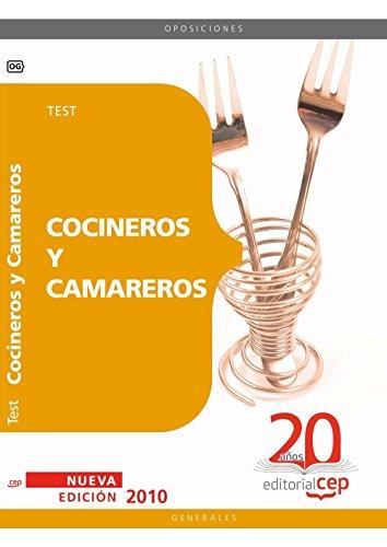 9788468101378: Cocineros y Camareros. Test