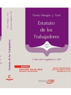9788468101965: Estatuto de los Trabajadores. Texto Íntegro Actualizado y Test. Colección Legislativa CEP (Colección 158)