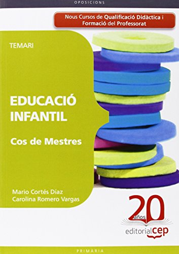 9788468103143: Cos de Mestres Educació Infantil. Temari