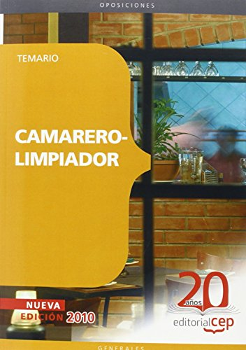 9788468105543: Camarero-Limpiador. Temario (Colección 65)