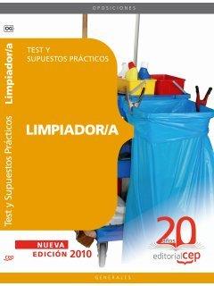 9788468105574: Limpiador/a. Test y Supuestos Prácticos (Colección 66)
