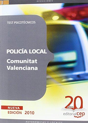 9788468106069: Policía Local de la Comunitat Valenciana. Test Psicotécnicos (Colección 637)