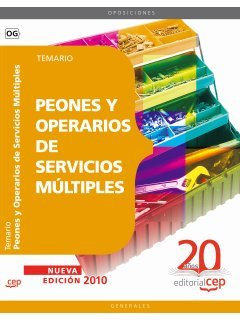 9788468106526: Peones y Operarios de Servicios Múltiples. Temario (Colección 91)