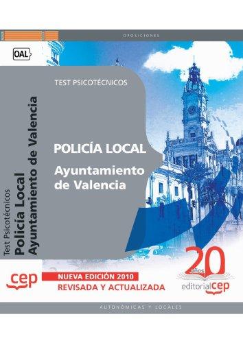9788468106588: Policía Local del Ayuntamiento de Valencia: Test Psicotécnicos