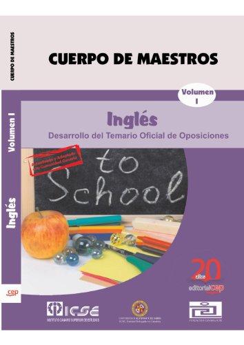 9788468106793: Cuerpo de Maestros. Inglés. Temario Vol. I. Edición para Canarias (Colección 736)