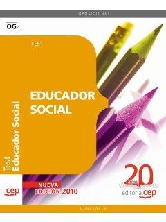 9788468107424: Educador Social. Test (Colección 1262)