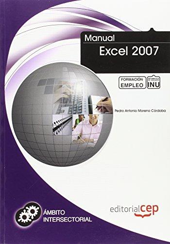9788468109381: Manual Excel 2007. Formación para el Empleo (Colección 1390)