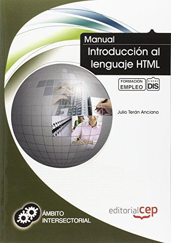 9788468110226: Manual de Introducci¥n al lenguaje HTML. Formaci¥n para el Empleo