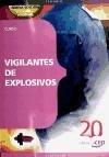 9788468110936: Curso de Vigilantes de Explosivos